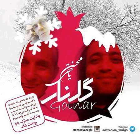 دانلود آهنگ جدید محسن یاحقی بنام گلنار