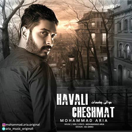 دانلود آهنگ جدید محمد آریا به نام حوالی چشمات