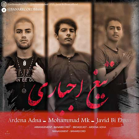 دانلود آهنگ جدید اردنا عدنا و محمد Mk و جاوید بی احساس به نام تیغ اجباری