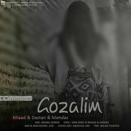 دانلود آهنگ جدید میعاد و دستان و مهداث(تبریزین یارا سسی) به نام گوزلیم