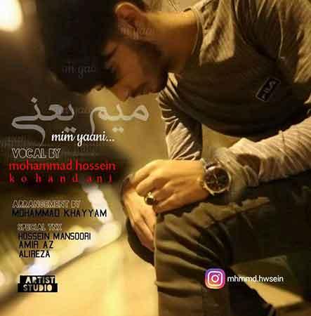 دانلود آهنگ جدید محمد حسین به نام میم یعنی