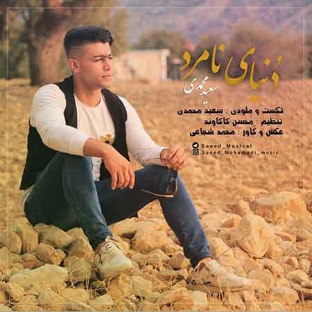 دانلود آهنگ جدید سعید محمدی به نام دنیای نامرد